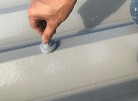 屋根塗装 完成